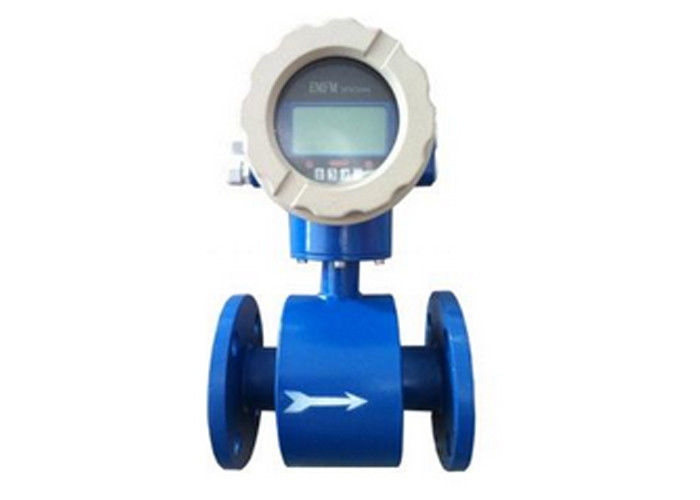 316L Electrode DN80 3 Inch Magnetic Flow Meter For Fluid Volumetric Measurement