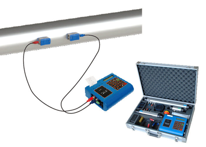 Portable Ulstrasonic Magnetic Flow Meter For Volumetric Measurement Non Contact Corrosion Resistance