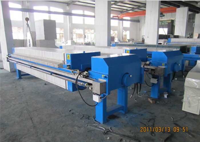 Recessed Chamber Filter Press For Food & Beverage Waste Water Treatment