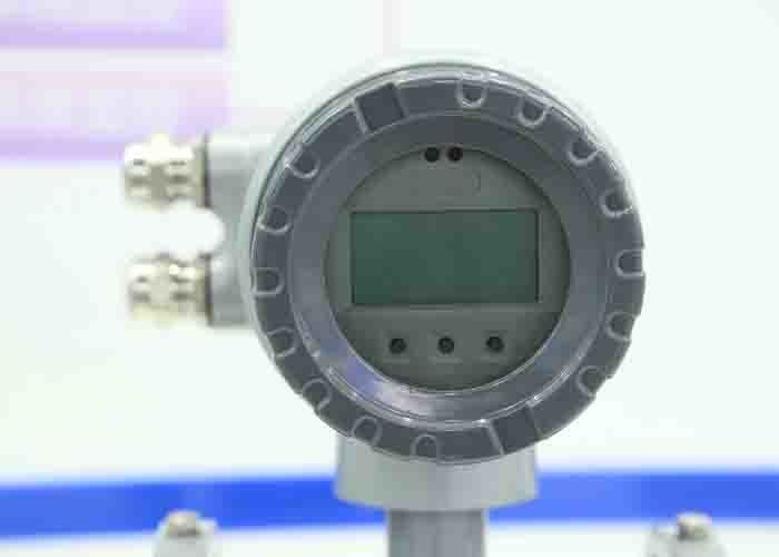Wastewater Electromagnetic Flow Meter Rubber Liner Large Meter Ratio