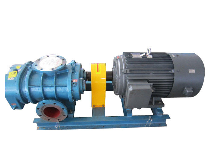 Port size 40mm 58.8kpa Pressure Tri-lobe Roots Blower / Roots air blower for effluent treatment plant