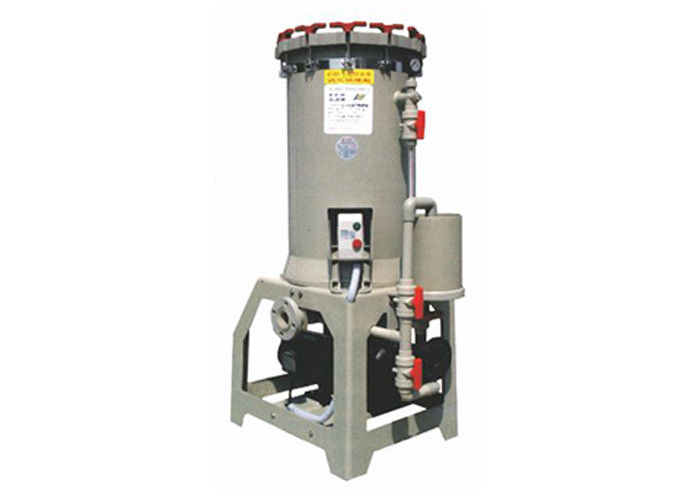 Semi - conductor 450L / min Chemical Filtration Systems 5HP with screw nut