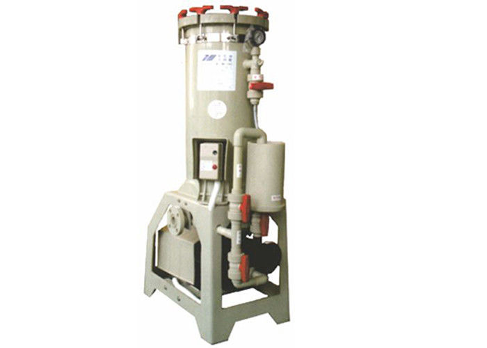 Excellent  Recycling Chemical Filtration Systems CPVC 330L/min 2HP