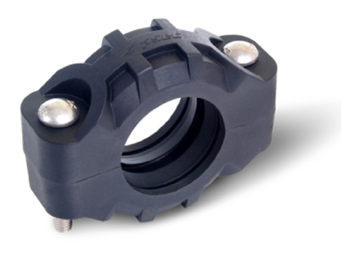 Composite plastic flexible coupling for quick pipe joints connectors corrosion resistant Nylon made 300psi 21bar